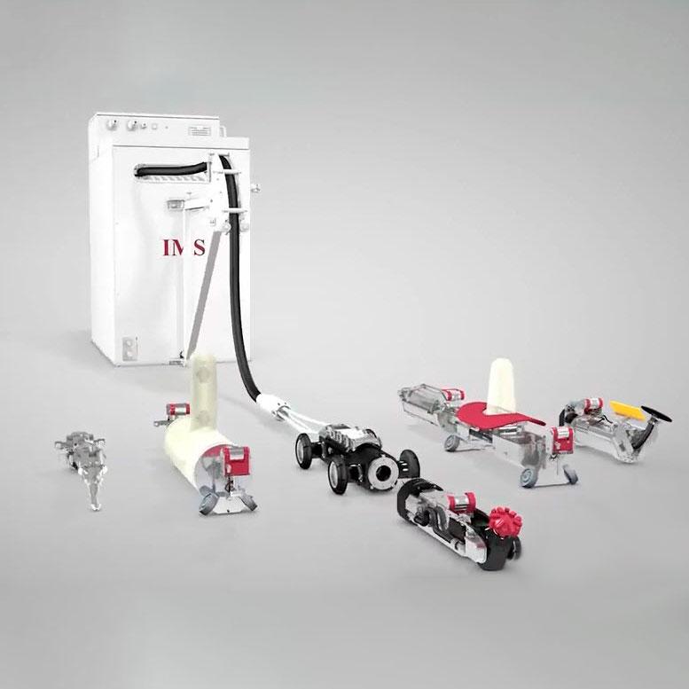 Robot de réhabilitation ponctuelle
